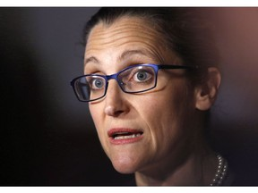 Minister of Foreign Affairs Chrystia Freeland is investigating whether the Saudis used Canadian-made weapons against their own people. Hands up if you're surprised at the suggestion.