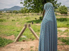Boko Haram fighters snatched Maryam from her family when she was 15 years old. When she escaped from the terrorists in 2016, Nigerian government soldiers took her to a camp for displaced people in Mubi, a town in northeastern Nigeria.