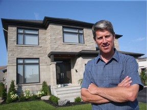 Luc Legault of Legault Builders takes a hands-on approach to custom homes.