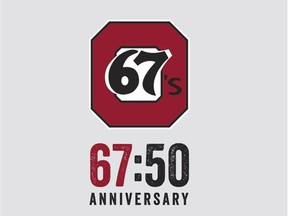 Ottawa 67's 50th Anniversary logo  Source: From Don Campbell