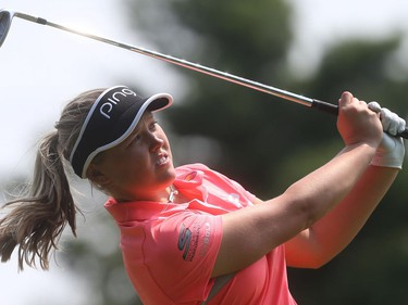 2017 Canadian Pacific Women's Open Pro Am at the Ottawa Hunt and Golf Club in Ottawa Ontario Monday Aug 21, 2017. Smith's Falls Brooke Henderson playing Monday.