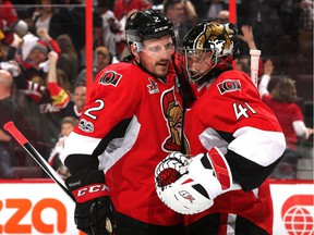 Dion Phaneuf, 32, and goalie Craig Anderson, 36, are two of the veterans who help push the Senators' average age up to 28.325, making them the fifth-oldest team in the NHL.
