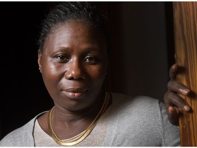 Martharlen Gaye is a refugee from Liberia supported by a group of women in Ottawa.