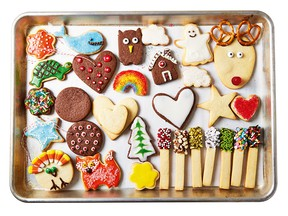 Sweet and simple sugar cookies from Baking Class by Deanna F. Cook.