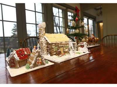 Joan & Derek Burney's house focuses on history, family and simplicity during the holidays.