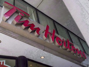 Tim Hortons head office quickly put out a statement in its defence, saying the actions of a 'rogue group' do not reflect the views of the company.
