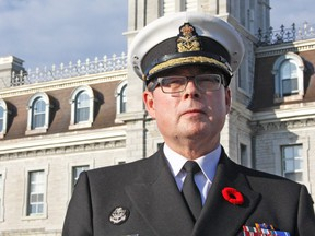Vice-Admiral Mark Norman is shown in this November 2016 photo.