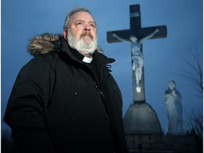 Father Tim Moyle looks after three Catholic parishes in the Upper Ottawa Valley.