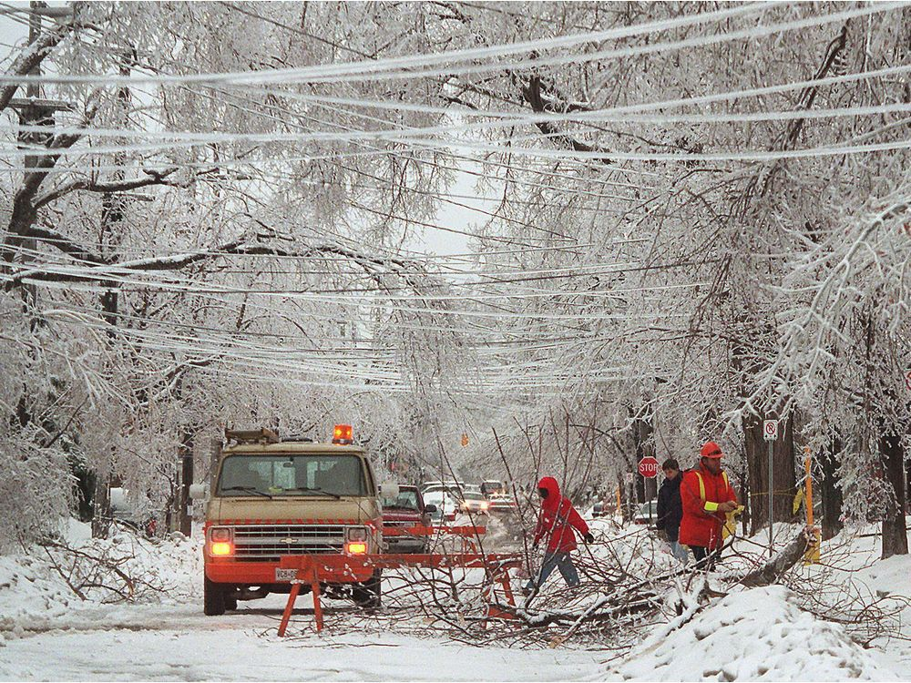 The Great Ice Storm of 1998, by the numbers | Ottawa Citizen
