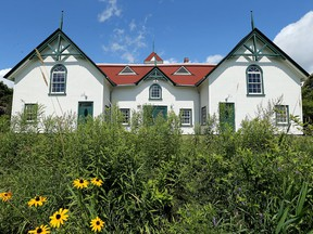The main building at the historic Moore Farm site in Gatineau.