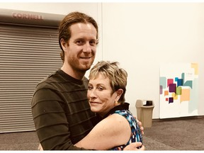 Ryan Parent and his mother, Ellen Parent, in the fall of 2017.