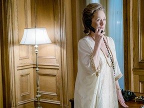 Meryl Streep and her caftan in The Post.
