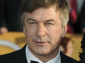 In this Jan. 27, 2013 file photo, Alex Baldwin arrives at the 19th Annual Screen Actors Guild Awards at the Shrine Auditorium in Los Angeles.