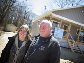 Jeff and Christine Smith's new home that was built after they lost theirs during the 2017 flood that hit Constance Bay almost a year ago.
