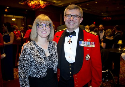 Lt.-Gen. Paul Wynnyk, Commander of the Canadian Army, and his wife Dr. Marianne Howell.