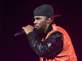 R. Kelly performs in concert at Barclays Center on September 25, 2015.