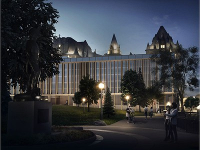 The latest revision for the Chateau Laurier addition, released on May 31, 2018.