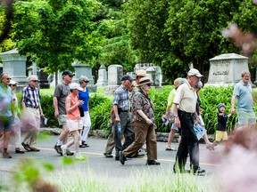 Volunteer guides lead 90-minute walking tours of Beechwood Cemetery on the fourth Sunday of the month from April to November, offering visitors the chance to absorb the ground's serenity, history and fresh air.