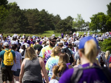 """The annual 5 km """"WALK for ALS"""" took place at the Canadian War Museum in support of those living with Amyotrophic Lateral Sclerosis (ALS), commonly known as Lou Gehrig's disease, Saturday June 9, 2018."""