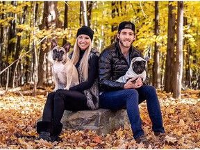 Facebook photo of Mike Hoffman and his girlfriend, Monika Caryk