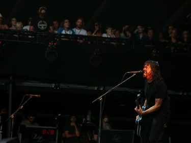 Dave Grohl of the Foo Fighters performs at the RBC Ottawa Bluesfest, July 10, 2018.