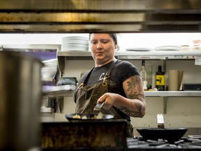Harriet Clunie is the chef and majority owner of the Beechwood Gastropub. She has decided to close the business at the end of the month.