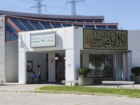 The Assalam Mosque at The Ottawa Islamic Centre on St. Laurent Boulevard.