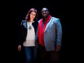 Vocalist Emilie Lesbros and alto saxophonist and composer Darius Jones perform Sept. 18 at the National Arts Centre's Fourth Stage.