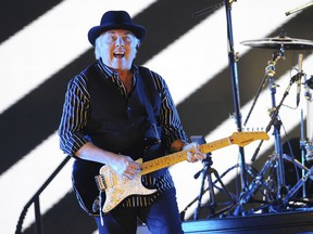 In this May 24 2013, file photo, Gene Cornish, of The Rascals, performs at Hard Rock Live! in the Seminole Hard Rock Hotel & Casino in Hollywood, Fla.
