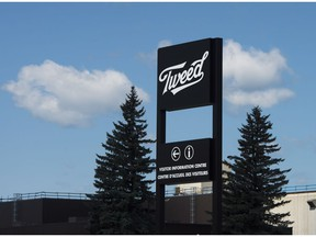 Canopy Growths Tweed facility in Smiths Falls, Ontario opens a new visitor centre on Thursday, Aug. 23, 2018.