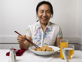 Chef and owner Ngun Tial at Rangoon Restaurant on Somerset Street West