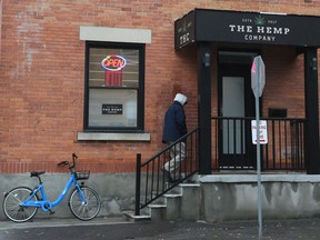 The Hemp Company store reopened after the online Ontario Cannabis Store ran into problems trying to fill customers' orders.