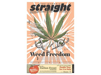 October 17, 2018 front page, Day 1 for cannabis legalization