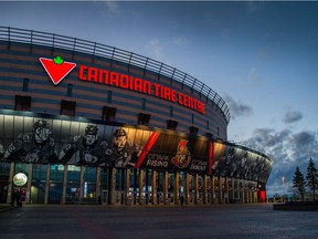 The Canadian Tire Centre.