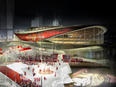 Artist's rendering of the 18,000-seat arena that would be a new home for the Ottawa Senators, and the showpiece of the RendezVous LeBreton development.