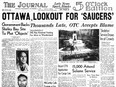 In 1953, Ottawa Journal readers were urged to be on the lookout for flying saucers, after Wilbert Smith's Project Magnet was given space and equipment to operate out of Shirley's Bay.