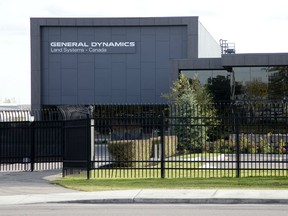 General Dynamics Land Systems in London, Ont.