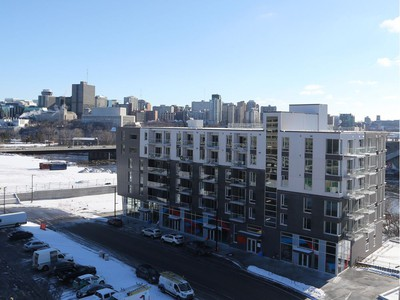 O is a six-storey condo in Gatineau that is the first to be built at Zibi. Residents began moving in before Christmas.