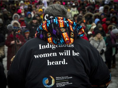 Ottawa's Women's March Canada took place Saturday Jan. 19, 2019 starting at Parliament Hill and marching down Bank Street to Lansdowne, braving the extreme cold weather.