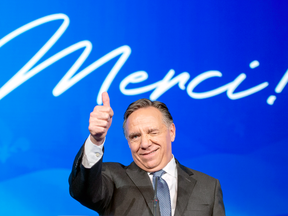 Quebec Premier François Legault. Just one per cent of Albertans and two per cent of Saskatchewanians feel Quebec is friendly towards their province.