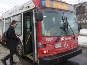 Postmedia reporter Ananya Vaghela joined Ottawa councillor Glen Gower on the #62 bus from Stittsville for his commute to City Hall on February 8, 2019.