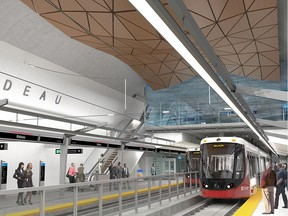 Rideau Station rendering.