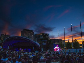 A file photo from the 2018 Ottawa Jazz Festival in Marion Dewar Plaza.