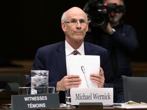 Privy Council Clerk Michael Wernick waits to testify before the House of Commons justice committee in Ottawa, Ontario, Canada February 21, 2019.