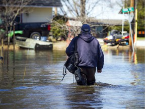 A state of emergency was declared in Rhoddy's Bay, west of Arnprior, on the Ottawa River Sunday, April 28, 2019.