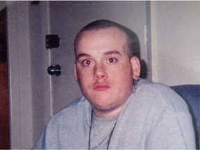 A file photo of Justin St Amour, who hanged himself at the Ottawa-Carleton Detention Centre in November 2016.