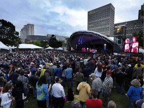 The opening night of the 2011 Ottawa Jazz Festival in Confederation Park