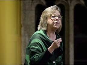 The numbers are looking good for Green Party leader Elizabeth May.