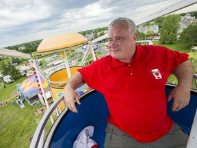 Darrell Bartraw is the president of Canada Day Barrhaven Inc. The volunteer organizer has installed fencing around the perimeter of the grounds and added other security measures after a gang of teenagers disrupted the family oriented event last year. June 28, 2019.