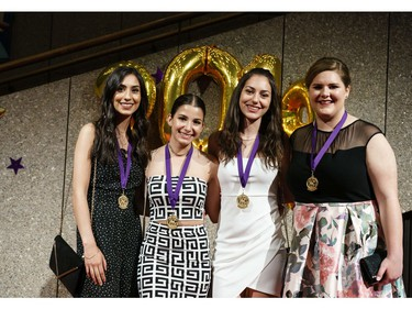 Cappies nominees from participating high schools arrive on the Red Carpet, prior to the start of the annual Cappies Gala awards, held at the National Arts Centre, on June 09, 2019, in Ottawa, Ont.